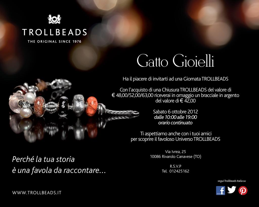 salvare 90168 7c4d6 Gatto Gioielli » Giornata Trollbeads Rivarolo Canavese ...