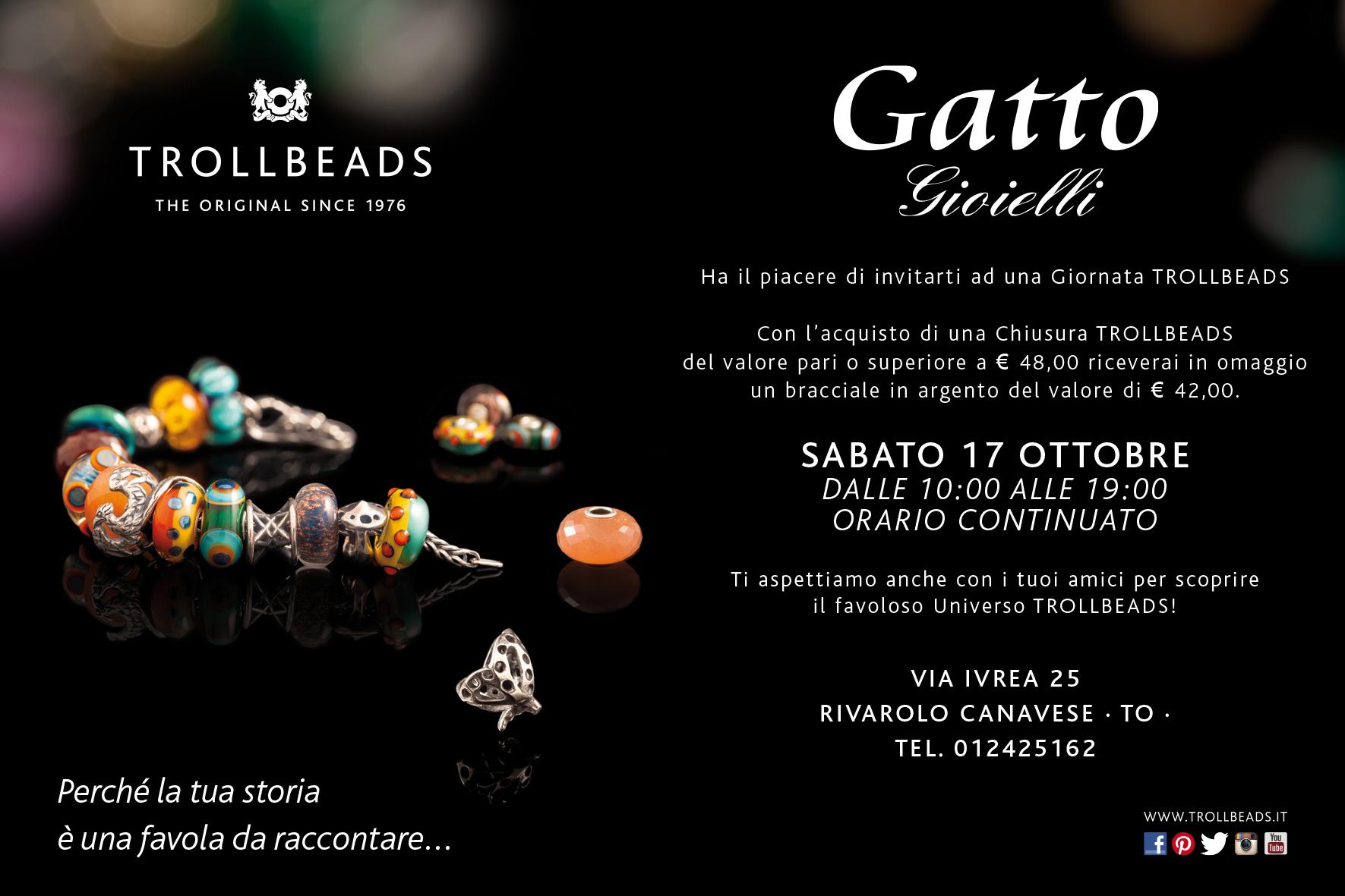 nuovo prodotto b9465 c3b4c Gatto GioielliGiornate Trollbeads » Gatto Gioielli